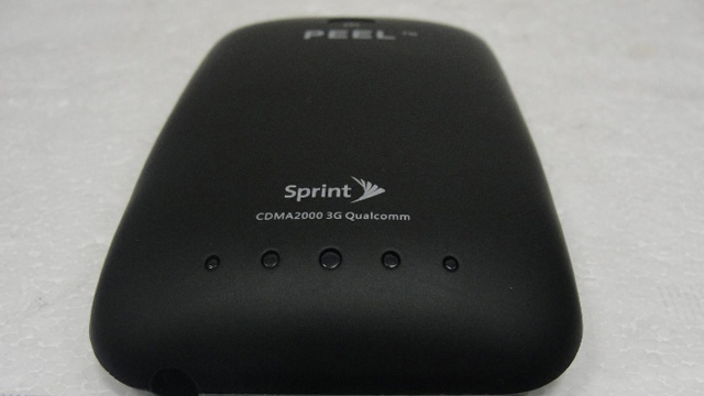 iPod Touch Sprint Peel Case